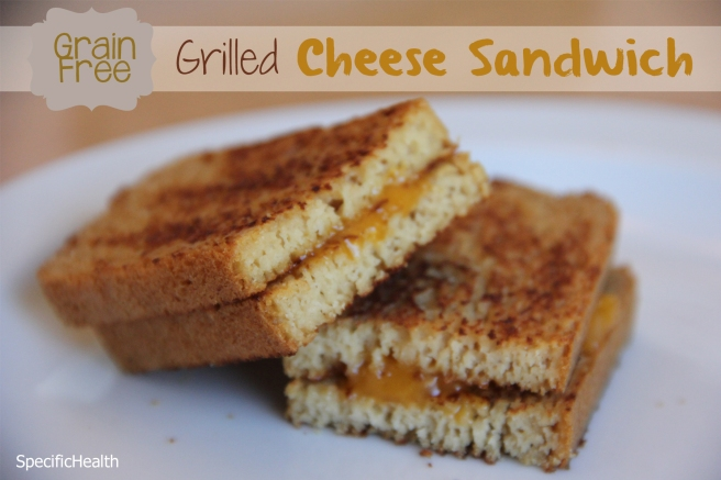Grain-Free Grilled Cheese Sandwich (SCD) - SpecificHealth