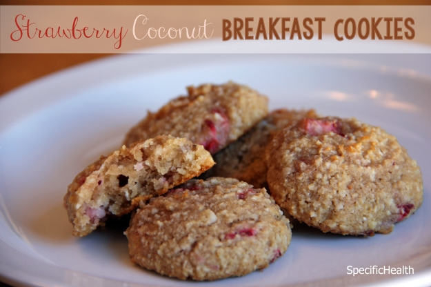 Strawberry Coconut Breakfast Cookie (SCD, Grain-Free) - SpecificHealth