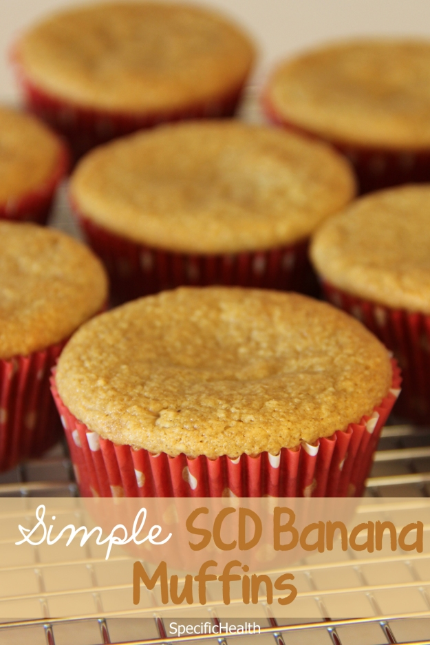 Simple Banana Muffins (SCD) - SpecificHealth